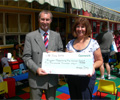 BH Presents Cheque